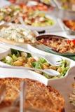 Alumerzo de la comida fría Imagen de archivo libre de regalías