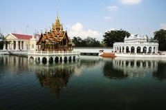 Golpee el dolor Aisawan, palacio de verano rayal, Tailandia Imágenes de archivo libres de regalías