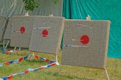 Golpee la blanco archery Foto de archivo libre de regalías