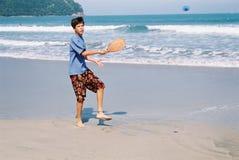 Golpee la bola Foto de archivo