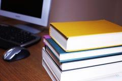 Golpee los libros Imagen de archivo libre de regalías