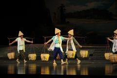 Golpeie em toda parte a ópera de junho Jiangxi do golpe uma balança romana Foto de Stock Royalty Free