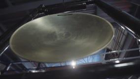 Golpeie um gongo vídeos de arquivo