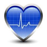 Golpes de corazón ilustración del vector