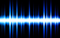 Golpes de la música del ritmo del equalizador de los sonidos Imagen de archivo