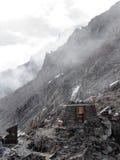 Golpes de la montaña imagen de archivo