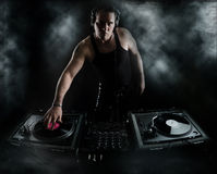 Golpes de la oscuridad - mezcla de DJ Imagen de archivo