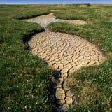 Golpes de la sequía Fotografía de archivo libre de regalías