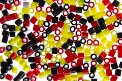 Golpes del plástico aislados Imagen de archivo libre de regalías