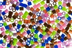 Golpes del plástico aislados Fotos de archivo libres de regalías