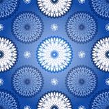 Golpeteo azul marino inconsútil del vintage Fotos de archivo libres de regalías