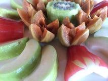 Golpeteo tailandés de la fruta, desayuno fotografía de archivo libre de regalías