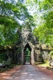 Golpura - gaateway Siem συγκεντρώνει την ημέρα πετρών Angkor Wat Στοκ φωτογραφίες με δικαίωμα ελεύθερης χρήσης