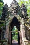 Golpura - gaateway Siem συγκεντρώνει την ημέρα πετρών Angkor Wat Στοκ φωτογραφία με δικαίωμα ελεύθερης χρήσης