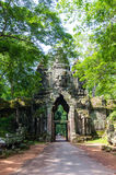 Golpura - gaateway Siem Reap Angkor Wat stone day Royalty Free Stock Photos