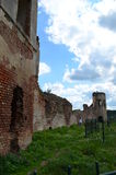 Golshanskiy castle ruins Stock Photography