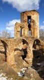 Golshany,白俄罗斯废墟  库存照片