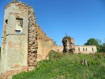 Golshany castle in the Republic of Belarus. Royalty Free Stock Photo