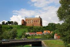 Golub城堡 免版税库存图片