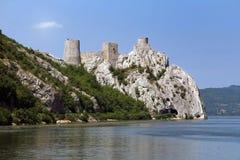 Golubac Festung Lizenzfreies Stockfoto