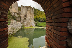 Golubac fortress Stock Photography