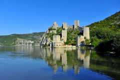 Golubac fortress Royalty Free Stock Photography