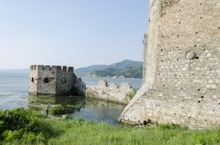 Golubac fortress in Serbia Stock Photos
