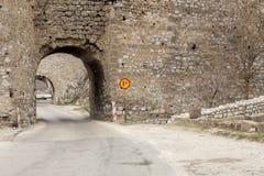 Golubac Fortress. Royalty Free Stock Image