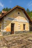 Golubici, klein station in de Tara bergen, Servië stock fotografie