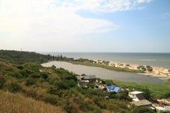 Golubitskaya, αγροτικό έδαφος Krasnodar τακτοποίησης Στοκ εικόνα με δικαίωμα ελεύθερης χρήσης