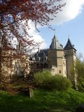 Goluchow roszuje - `` poleruje Loire doliny kasztel `` Fotografia Royalty Free