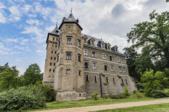 Goluchow slott, tidig renässansslott i Polen Royaltyfria Bilder