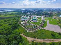Golutvin修道院在Kolomna 库存图片