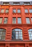 Golutvin工厂的砖建筑学在莫斯科,俄罗斯 库存照片