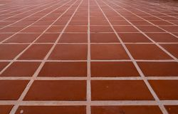 Golv för keramiska tegelplattor Arkivfoton