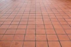 Golv för keramiska tegelplattor Royaltyfri Foto