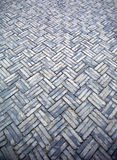 golv mönstrad sten Arkivfoto