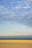Golven in het Zand Stock Foto's
