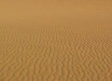 Golven in het zand Stock Fotografie