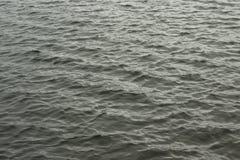Golven op de oppervlakte van het donkere water Stock Fotografie