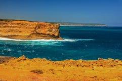 Golven op de Vreedzame kust de reis aan Australië Royalty-vrije Stock Fotografie