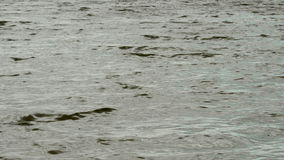 Golven op het overzees, bewolking stock video