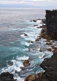 Golven van de Atlantische Oceaan Royalty-vrije Stock Afbeeldingen