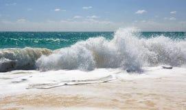 Golven van de Caraïbische Zee. Royalty-vrije Stock Fotografie
