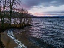 Golven van Loch Royalty-vrije Stock Afbeeldingen