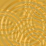 Golvend goud Stock Foto's