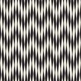 Golvend strepen vector naadloos patroon Retro golvende gravuretextuur Het geometrische ontwerp van zigzaglijnen N royalty-vrije illustratie