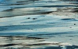 Golvend Water met Blauw, Turkoois en Grey Background Royalty-vrije Stock Afbeeldingen