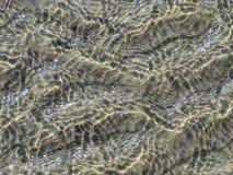 Golvend Water met Grey Background Royalty-vrije Stock Foto's