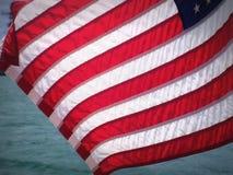 Golvende Amerikaanse Vlag Royalty-vrije Stock Afbeelding